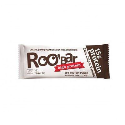 Baton proteic cu vanilie si ciocolata raw eco 60g