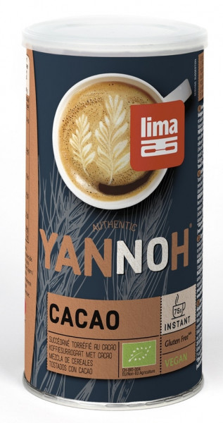 Bautura din cereale Yannoh Instant cu cacao eco 175g Lima