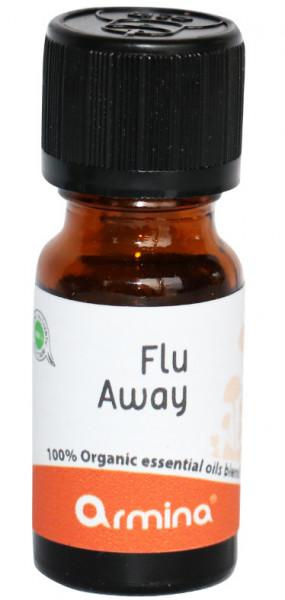 Blend din uleiuri esentiale FLU AWAY pentru difuzer bio 10ml