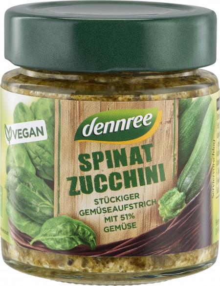 Pasta de legume cu spanac si zucchini bio 120g Dennree