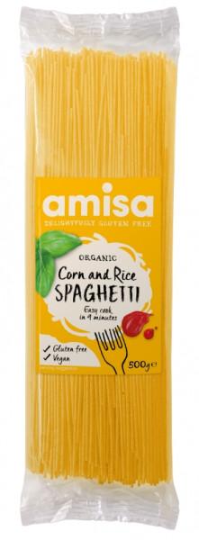 Spaghetti din orez si porumb fara gluten eco 500g