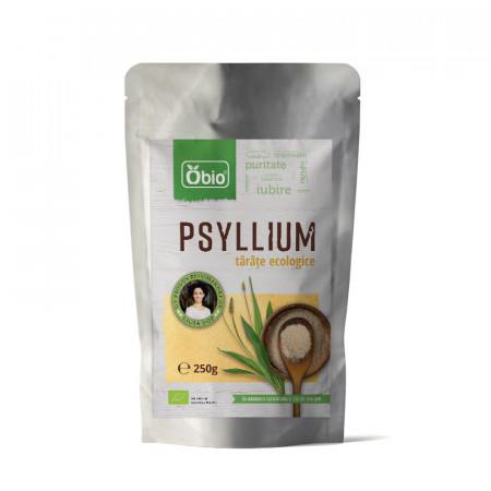 Tarate de psyllium raw eco 250g Obio