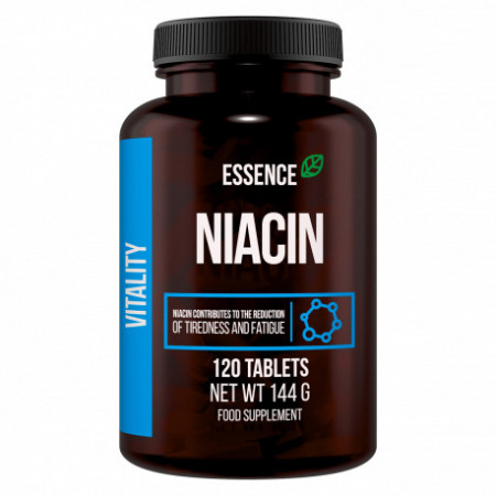 Vitamina B3 Niacina 120 Tablete, Essence