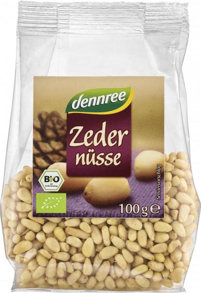 Seminte de cedru bio 100g Dennree