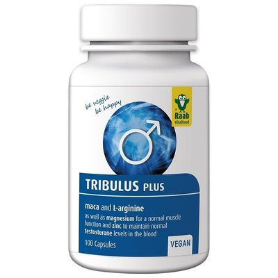 Tribulus plus 650mg, 100 cps RAAB