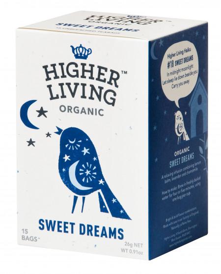 Ceai SWEET DREAMS eco, 15 plicuri, Higher Living