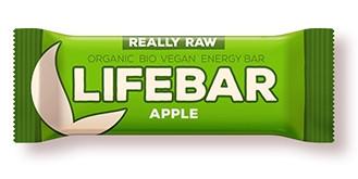 Lifebar baton cu mere raw eco 47g