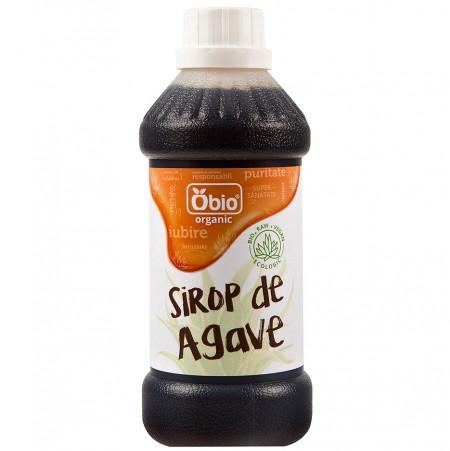 Sirop de agave dark raw eco 500ml Obio