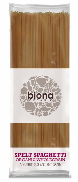 Spaghetti integrale din spelta bio 500g Biona