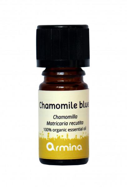 Ulei Esential De Musetel, German, Albastru (Matricaria Recutita) Bio 5Ml Armina