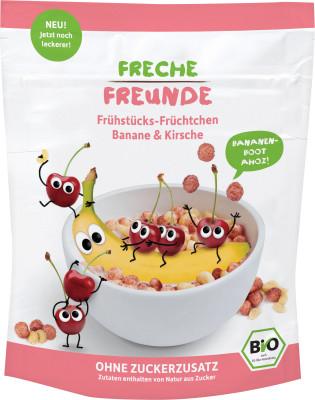 Cereale Pt. Mic Dejun Cu Banane Si Cirese Bio 125G