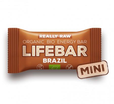 LIFEBAR baton cu nuci braziliene raw eco 25g