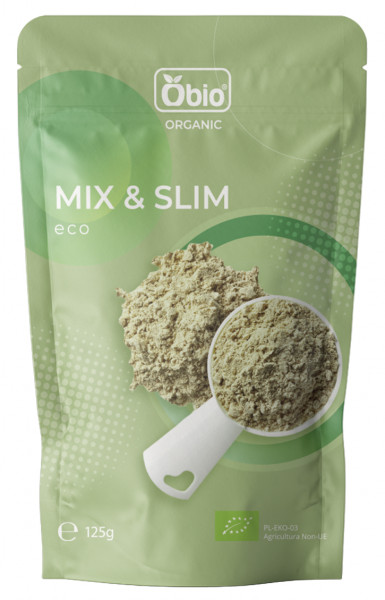 Mix & Slim pudra bio 125g Obio