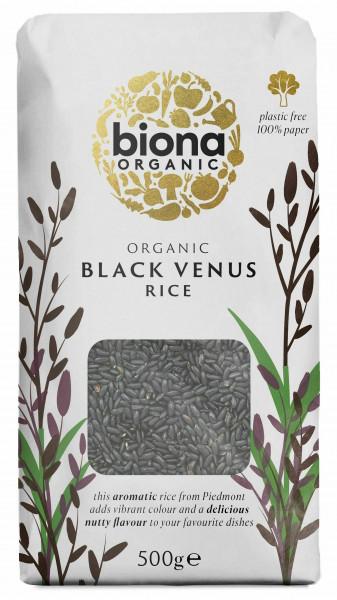 Orez negru Venus bio 500g Biona