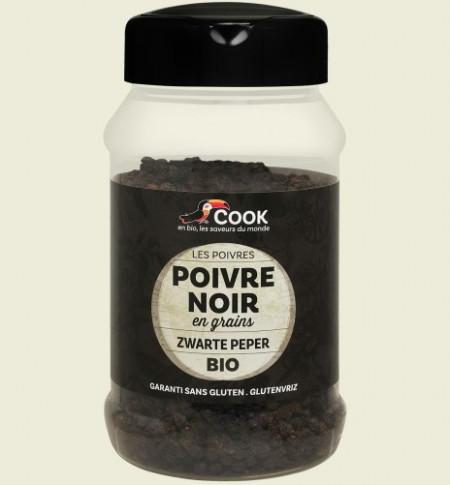 Piper negru boabe bio 200g Cook