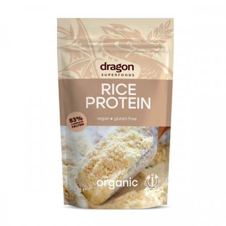 Pudra proteica din orez eco 200g DS