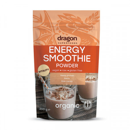 Energy Smoothie Dragon Superfood ambalaj fata