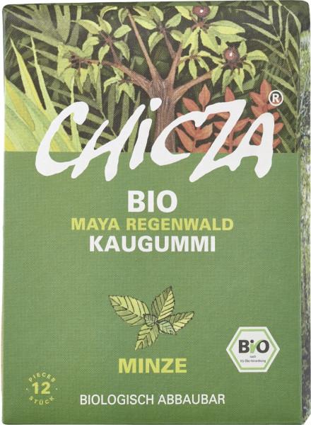 Guma de mestecat cu menta bio 30g Chicza