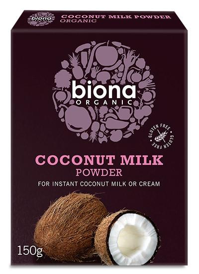 Lapte de cocos praf eco 150g BIONA