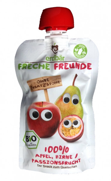 Piure De Mere, Pere Si Fructul Pasiunii Eco 100G Ff