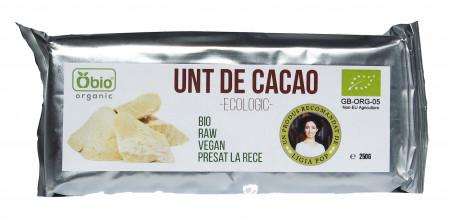 Unt de cacao raw eco 250g Obio