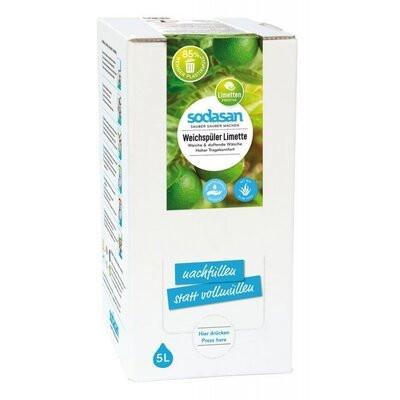 Balsam bio pentru rufe cu Lime 5L Sodasan