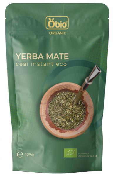 Ceai yerba mate instant bio 125g Obio