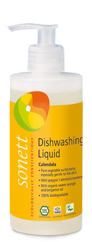 Detergent Ecologic Pt. Spalat Vase - Galbenele 300Ml Sonett