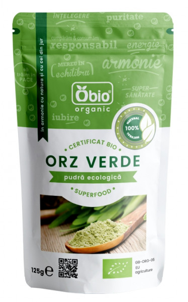 Orz verde pulbere eco 125g