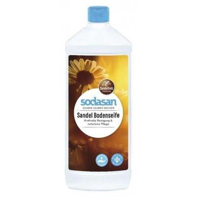 Solutie bio pentru podele cu santal 1L Sodasan