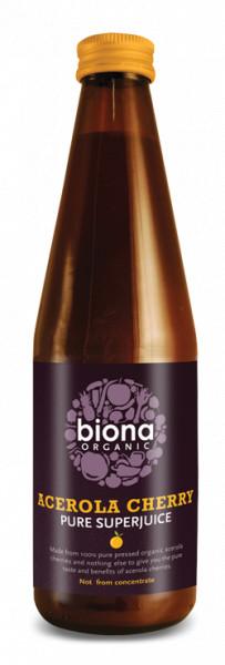 Suc de acerola pur eco 330ml Biona
