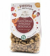 Paste integrale din multicereale fara gluten pentru copii, eco 250g Pasta Natura