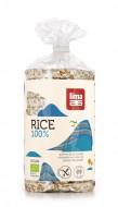 Rondele de orez expandat cu sare LIMA eco 100g