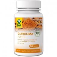 Turmeric (curcuma) FORTE bio 500mg, 90cps RAAB