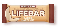 Lifebar baton cu alune si carob raw eco 47g