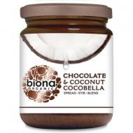 Unt de cocos cu ciocolata Cocobella eco 250g