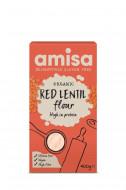 Faina de linte rosie, fara gluten, eco 400g Amisa