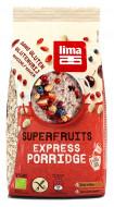 Porridge Express cu superfructe fara gluten bio 350g Lima