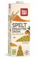 Bautura vegetala de spelta cu migdale eco 1L Lima