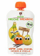Piure De Pere, Banane, Portocale Si Vanilie Bio 100G