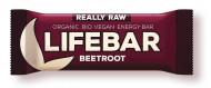 Lifebar baton cu sfecla rosie raw bio 47g