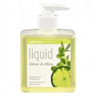 Sapun lichid gel de dus bio citrice masline 300ml SODASAN