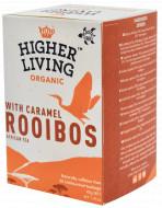 Ceai ROOIBOS si CARAMEL eco, 20 plicuri, Higher Living