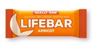 Lifebar baton cu caise raw eco 47g