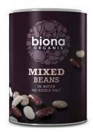 Mix din 3 tipuri de fasole boabe eco 400g Biona