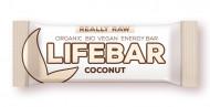 Lifebar baton cu cocos raw eco 47g