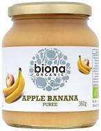 Piure de mere si banane eco 360g Biona