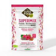 Supermix pentru micul dejun cu zmeura, in si chia bio 350g, fara gluten