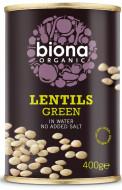 Linte verde eco 400g Biona