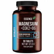 Magneziu + Vitamina D3, K2 Si B6, 90 Tablete, Essence